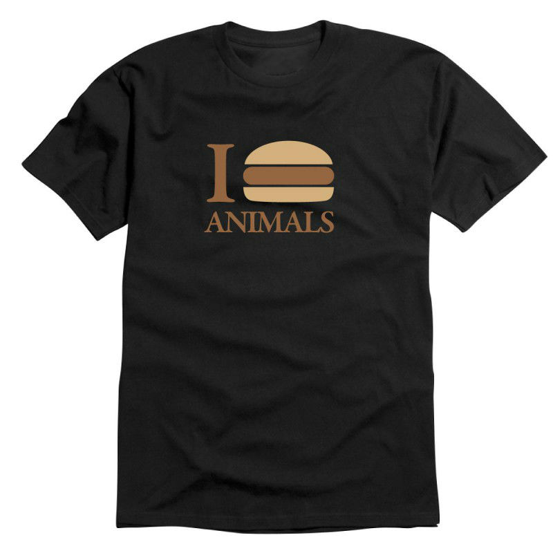 Tričko I Love Animals Burger
